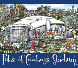 Pubs of Dallas Poster-day
