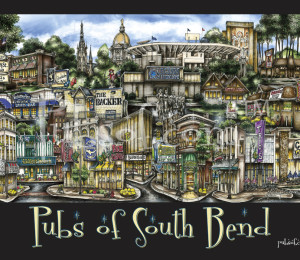 Pubs of South Bend Poster