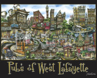 Pubs of West Lafayette poster