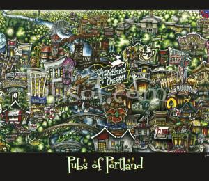 pubsOf Portland