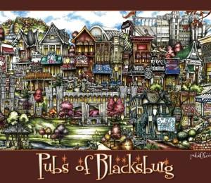 PubsofBlacksburg-Poster-Maroon