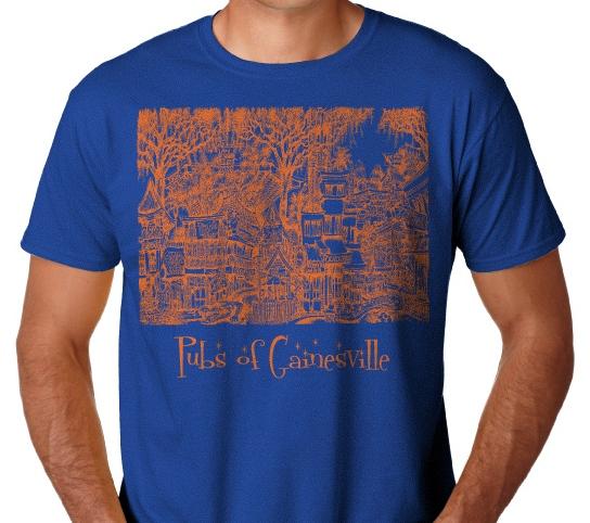 pubsof gainesville fl t shirt