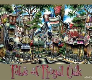 pubs of Royal Oak