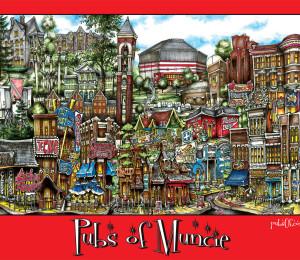 Pubs of Muncie-red