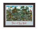 Key West Poster Framed
