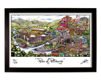 Pittsburgh Framed Print-01