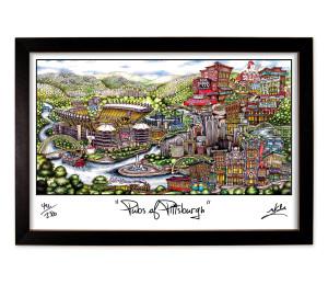 Pittsburgh Framed Print-01