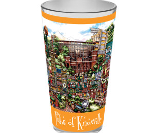 Knoxville Tennessee pint glass