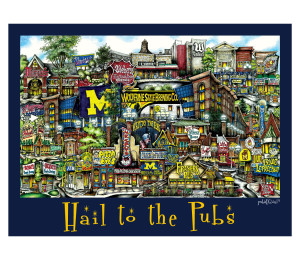 Hail To The Pubs Unframed Poster-01