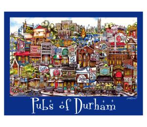 Durham (Duke) Unframed Poster-01