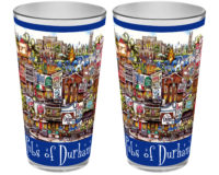 college town glasses pubsOf Durham North Carolina