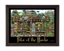Pubs of the Hawks Framed Poster-01