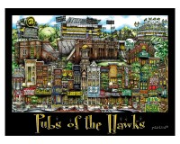 Pubs of the Hawks Unframed Poster-01