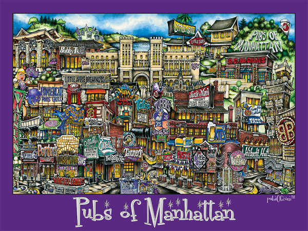 ManhattanKansas-Poster-Purple
